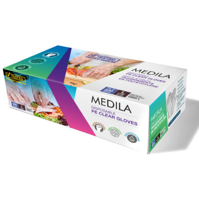 MEDILA PE Clear Food Gloves