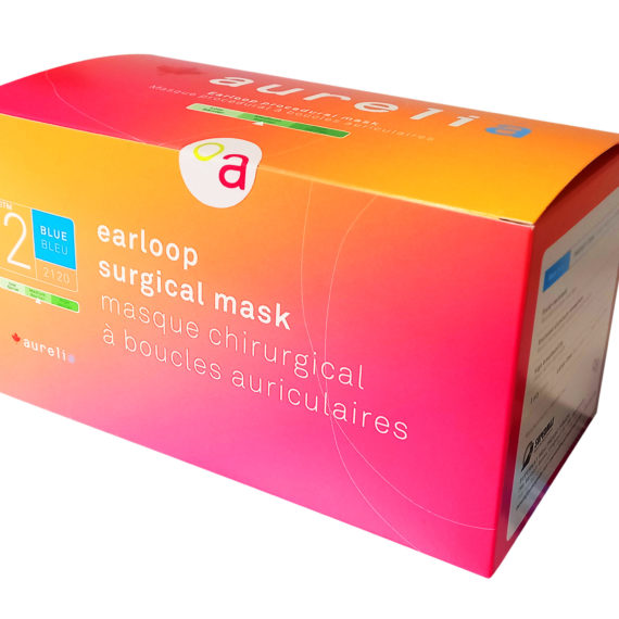 Aurelia ASTM Level 2, 2120 Face Masks, Made in Canada