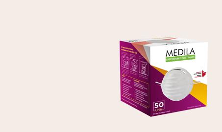 medila dust mask